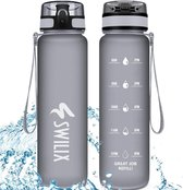 Swilix Drinkfles - Sport Water Bidon - Waterfles 1