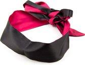 Banoch | Blinddoek bordeaux rood - zacht 150 cm 8 cm breed