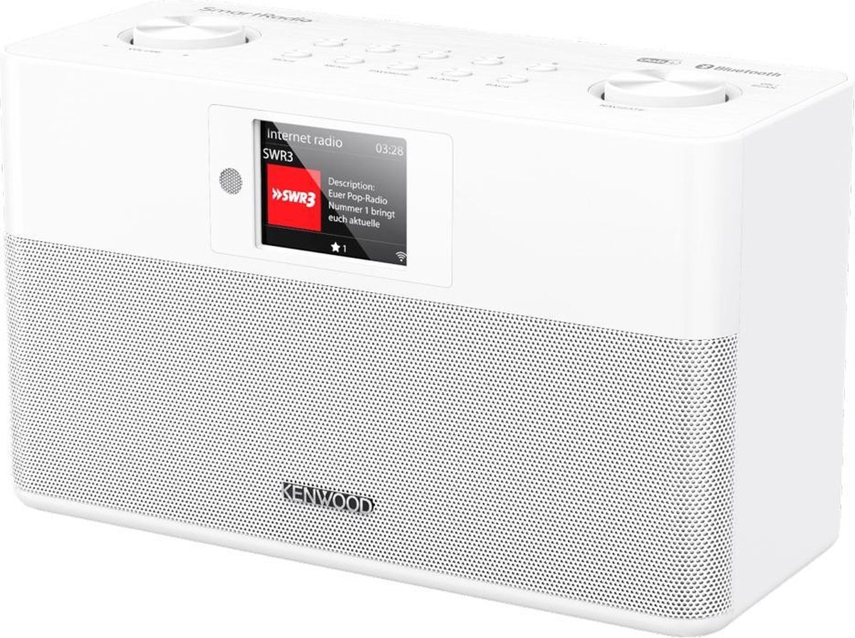 Kenwood CR-ST100S-W radio Internet Wit