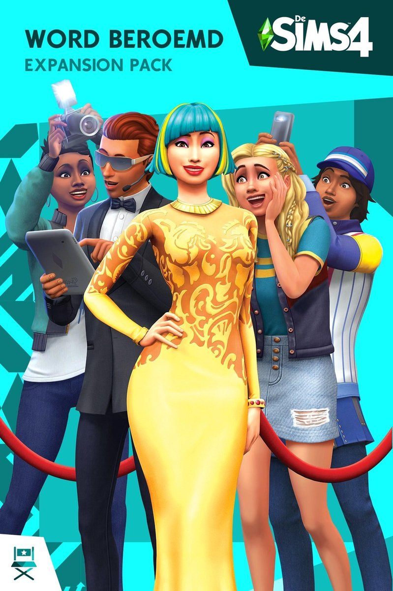 De Sims 4 - Word Beroemd - Expansion Pack - Windows + MAC