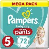 Pampers Baby Dry Pants Maat 5 - 72 Luierbroekjes
