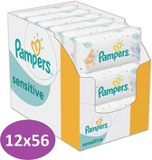 Pampers Sensitive Billendoekjes - 672 Stuks