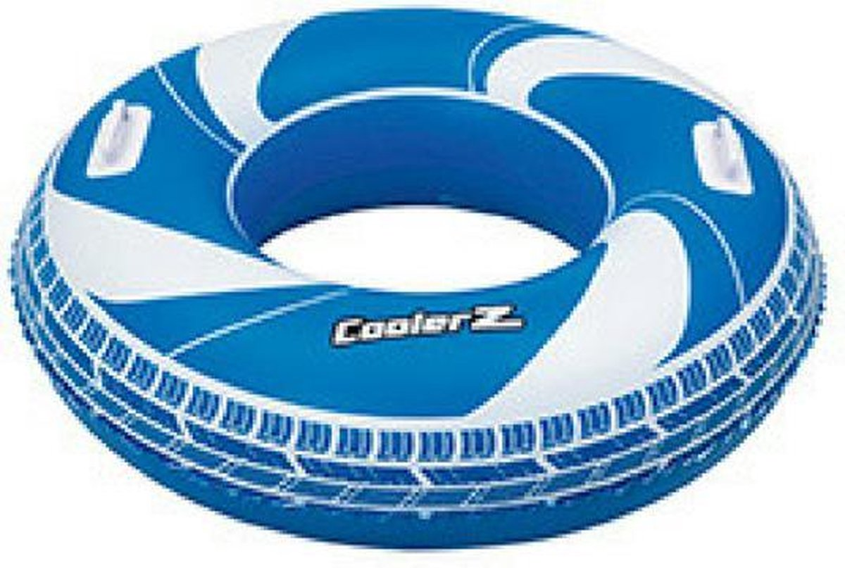 Bestway Zwemring Coolerz - Ø1,02 - Blauw/Wit