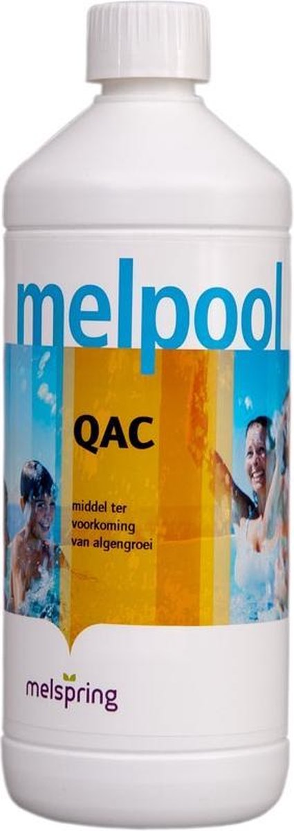 Melpool QAC anti alg 1ltr voor zwembaden