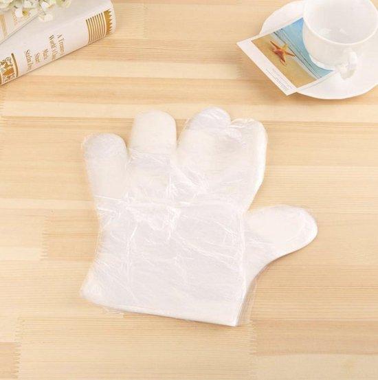 Plastic Wegwerp Handschoenen (100 stuks)