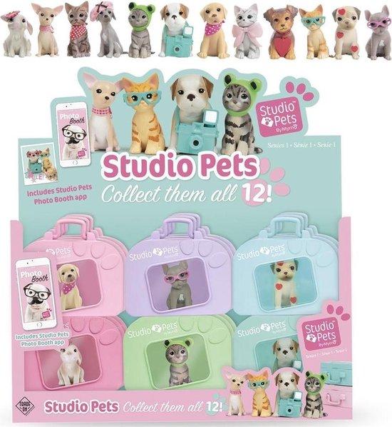 Afbeelding van het spel Studio Pets in Mini Koffer Assorti