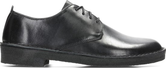Clarks - Herenschoenen - Desert London - G - black polished - maat 7,5