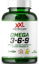 XXL Nutrition Omega 3-6-9-100 softgels