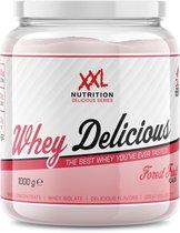 XXL Nutrition Whey Delicious - Proteïne Poeder / Proteïne Shake - Bosvruchten 2500 gram