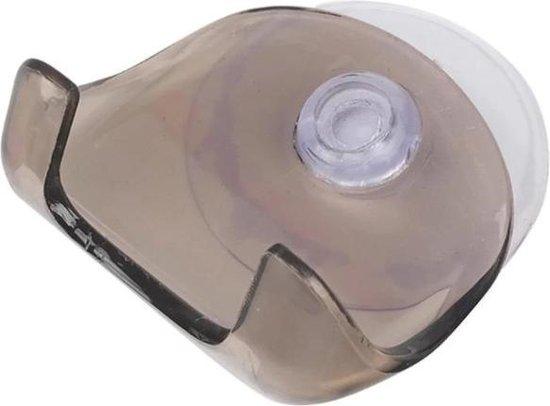 Scheermeshouder - Zelfklevende scheermeshouder - Badkameraccessoires - Haak voor scheermes - Ophanghaak - Houder voor scheermes - Scheermes houder - Scheermes - Accessoires voor de badkamer - Zelfklevend - Scheerapparaat houder - Zuignap - Zwart