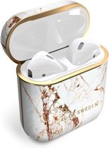 iDeal of Sweden AirPods Case Print 1st & 2nd Generation Carrara Gold