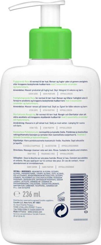 CeraVe Hydrating Cleanser 236ml - gezichtsreiniging