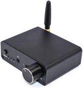 NÖRDIC SGM-128 Digitaal naar analoog audio converter, Met hoofdtelefoon versterker, Bluetooth, Zwart