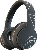 PowerLocus P6 Draadloze Over-Ear Koptelefoon Inklapbaar - Bluetooth Hoofdtelefoon - Met microfoon - Zwart/Zilver