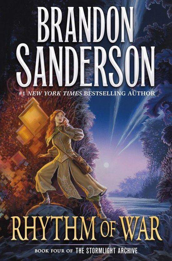 Boek cover Rhythm of War van Brandon Sanderson (Onbekend)