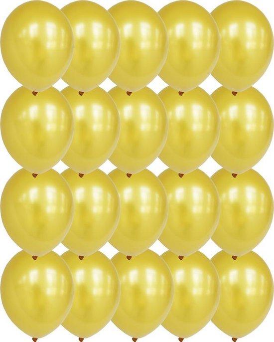 Premium Kwaliteit Latex Ballonnen, Goud, 20 stuks, 12 inch (30cm) , Verjaardag, Happy Birthday, Feest, Party, Wedding, Decoratie, Versiering, Miracle Shop