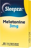 Sleepzz Melatonine 3mg Voedingssupplement - 25 tabletten