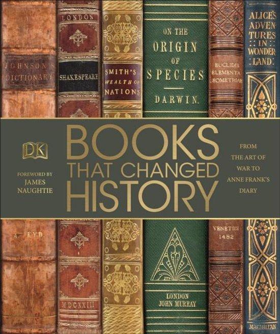 Boek cover Books That Changed History van Dk (Hardcover)