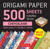 Origami Paper 500 sheets Chiyogami Patterns 4  (10 cm): Tuttle Origami Paper