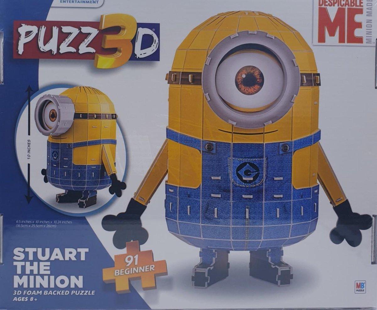 Despicable ME Stuart 3D puzzel