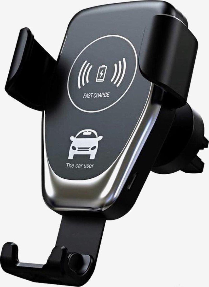 DailyFox Draadloze telefoonhouder auto / Fast Charge Qi - Universeel - Draadloze oplader auto - Tele