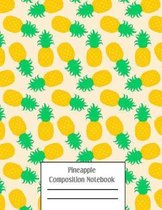 Pineapple Composition Notebook: Cacti Succulent Plants Writing Pages