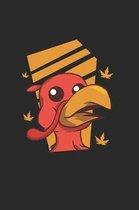 Thanksgiving Turkey Face Notebook