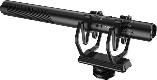 Synco Audio - Shotgun Microfoon - Ontkoppelbaar van Shockproof Mount - Mic-D30