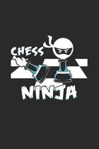 Chess ninja: 6x9 Chess - dotgrid - dot grid paper - notebook - notes