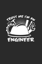 Trust me I'm an engineer: 6x9 Engineers - dotgrid - dot grid paper - notebook - notes