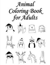 Animal Coloring Book for Adults