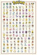 Pokémon Poster - Pack Kanto - 61 x 91 cm