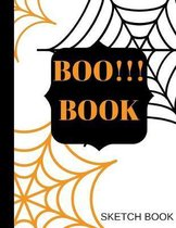 Boo!!! Book Sketch Book: Girly magical Sketch Book for Kid, Art Workbook, design book, activity, fun for hours drawing, gift for birthdays and