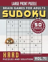 Hard Sudoku Puzzles and Solution: suduko puzzle books for adults difficult - Sudoku Hard Puzzles and Solution - Sudoku Puzzle Books for Adults & Senio