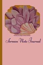 Sermon Note Journal