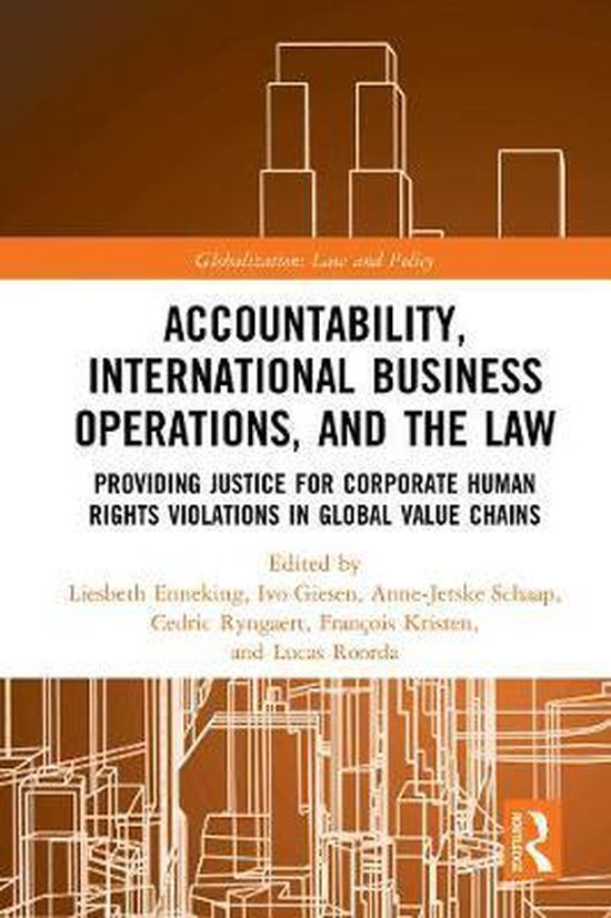 Boek cover Accountability, International Business Operations and the Law van  (Hardcover)