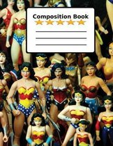 Composition Book: Super Heroes