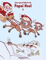 Livro para Colorir de Papai Noel 2