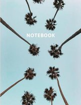Notebook: Pocket-Sized Notebook For Writing And Planning - 8.5 x 11 inches