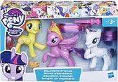 My Little Pony Equestria Friends 3 Pack - Speelfiguur - Paars