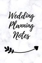 Wedding Planning Notes: A5 Hochzeitsplaner TAGEBUCH Geschenkidee zur Verlobung - f�r zuk�nftige Br�ute und Br�utigame - Hochzeitsvorbereitung