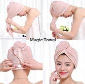 Toweldry Haarhanddoek - Snel drogende handdoek - 2 stuks - Wit