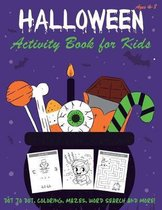 Happy Halloween Activity Book for Kids