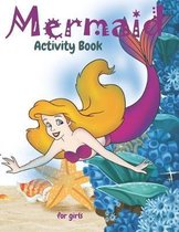 Mermaid Activity Book For Girls
