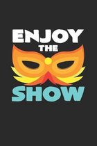 Enjoy the show: 6x9 Carnival - grid - squared paper - notebook - notes