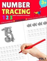 Number Tracing Book for Preschoolers: Trace Numbers 1-20 Practice Workbook for Pre K - Kindergarten, Math Kindergarten Workbook, Number Tracing Books