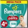 Pampers Baby Dry Pants - Maat 4+ - Maandbox 108 luierbroekjes Extra absorberend