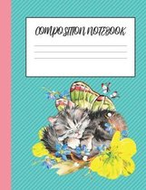 Kittens And Butterflies: Cute Composition Notebook For People Who Love Cats