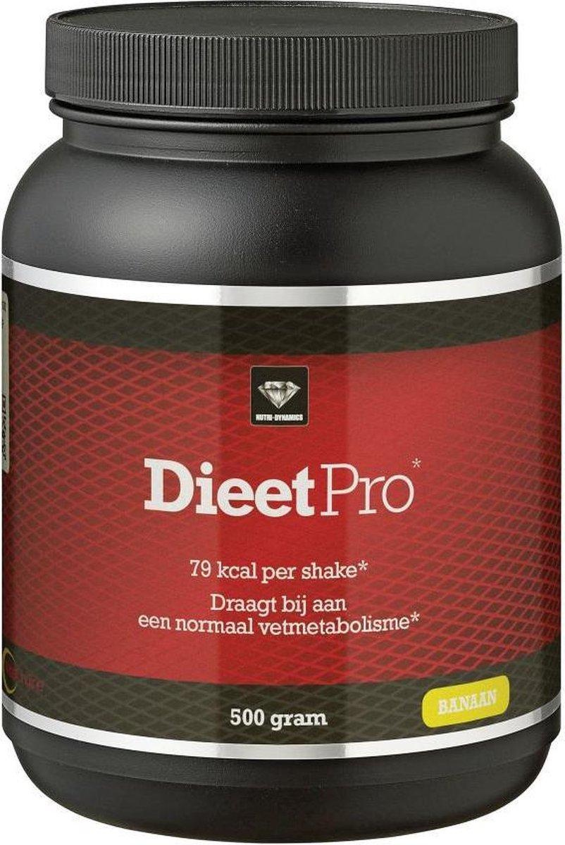 Nutri Dynamics Dieet Pro Eiwitshake Banaan - 500 gram