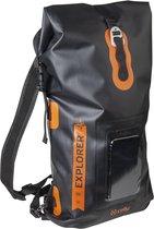 Celly Handige dry bag rugzak 20L zwart met smatphone vak
